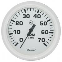 Тахометр для подвесных моторов, 7000 об/мин, серия Dress white