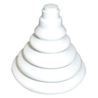 Уплотнительная гофра, белая 75х110 мм