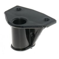 Подуключина пластиковая, накладная, 18 мм, черная