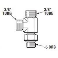 Тройник рулевой машинки HF6006, 360 градусов