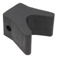 Носовой упор, 54х81х54 мм, черный