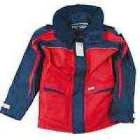Куртка «Skagen», темно-синий + красный и белый, размер M