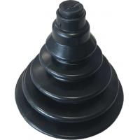 Уплотнительная гофра, черная 75х110 мм